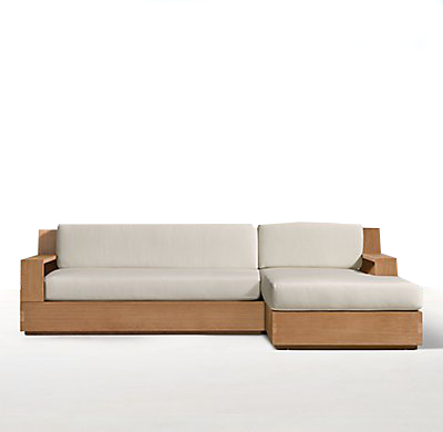 ST TROPEZ CLASSIC RIGHT-ARM SOFA CHAISE SECTIONAL