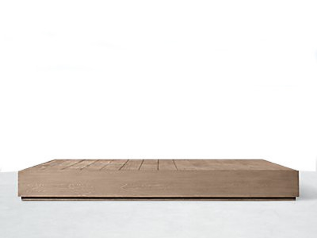 ST TROPEZ SQUARE COFFEE TABLE